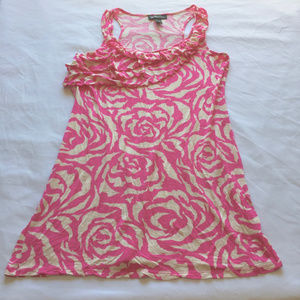 [3 for $20] INC Knit Rayon Rose Tunic Tank, M